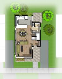 resilient single family home floor plan as designed by open