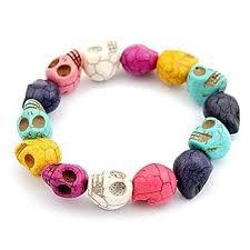 bracelet skull images Skull bracelets amazon co uk jpg