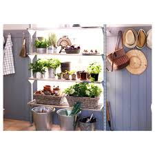 just like the arrangement of plants on this shelf larger image