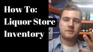 Alcohol Inventory Spreadsheet How To Fill Up Inventory In A Liquor Store Youtube