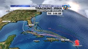hurricane tracker powerful irma hits first caribbean islands