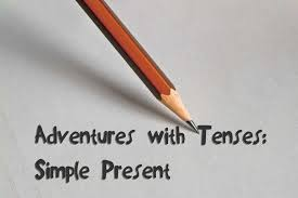 present writing paper adventures with tenses simple present harbinger tutoring center simple present