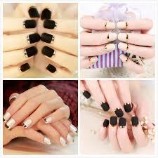 short fake gel nails promotion shop for promotional short fake gel