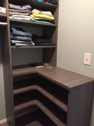 closet garage images in seacoast nh custom home organization custom corner shelves in portsmouth
