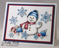 46 best cards heartfelt creations snow kissed images on
