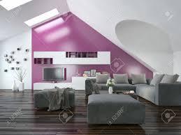 Moderne Wandgestaltung Wohnzimmer Lila Wandgestaltung Grün Lila Kinderzimmer Wandgestaltung Rosa
