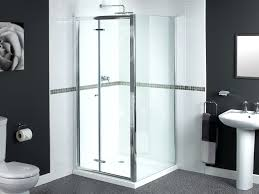 folding tub shower doors frameless folding glass shower doors tub