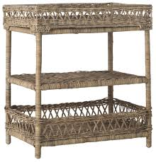 Rattan Accent Table Sea7026a Accent Tables Furniture By Safavieh