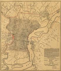 Philadelphia Pa Map Pagenealogy Net Pennsylvania Historical Maps