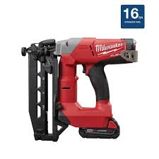 What Is The Best Finish For Kitchen Cabinets Milwaukee M18 Fuel 18 Volt 16 Gauge Straight Finish Nailer Kit