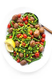 potato and green bean salad the lemon bowl