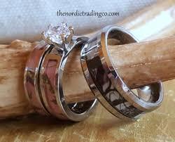 Pink Camo Wedding Rings by Camo Wedding Ring Sets U0026 Singles Latest Camouflage Patterns Men U0027s