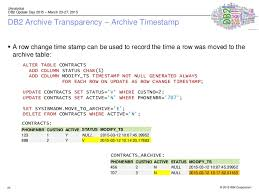 db2 alter table add column 2015 01 26 5212 2 transparent archiving with