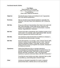 functional resume for students pdf to excel outline of resume resume sle