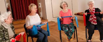 Armchair Aerobics For Elderly L2 Chair Based Exercise Instructor Allactive