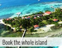 belize private island resort placencia vacation diving whole
