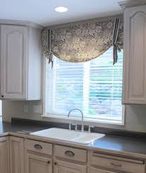 kitchen valances for kitchen within impressive diy no sew burlap