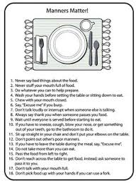 activity day ideas good manners serving others primary