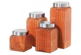 Orange Kitchen Canisters | orange kitchen canisters foter