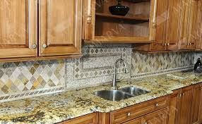 Pictures Of Kitchen Countertops And Backsplashes by Gold U0026 Silver Granite Designs Marva Marble And Granite