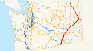 Map Of Spokane U S Route 395 In Washington Wikipedia