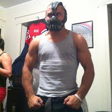 bane costume so my buddy got a bane mask for his birthday do you think he can