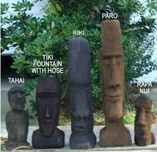 easter island statues for garden easter island moai monolith