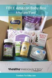wedding registry free gifts baby registry welcome box what came inside baby box