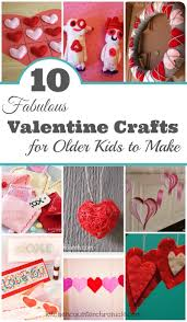 10 fabulous valentine crafts for older kids to make