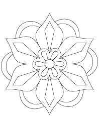 diwali rangoli coloring pages flower rangoli coloring