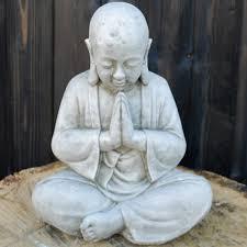praying siam buddha ornament bd19 33 24 garden4less uk shop