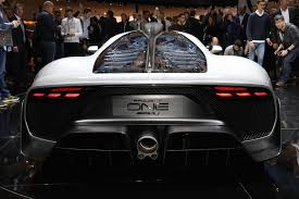 more mercedes amg project one details from the frankfurt show