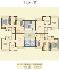 600 sq ft 1 bhk 2t apartment for sale in vihang hills thane west