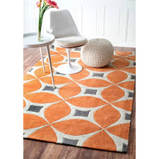 Modern Orange Rugs Turquoise And Orange Area Rugs Roselawnlutheran