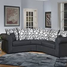 Small Scale Sofas by Small Curved Sectional Sofa Foter
