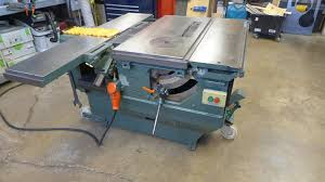 Sliding Table Saw For Sale Felder Bf5 26 Combination Table Saw Shaper Jointer And