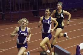 k state track and field teams split for dual meets this weekend
