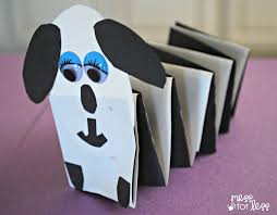 dog crafts for kids part 17 dog stretch stretchy accordian kids