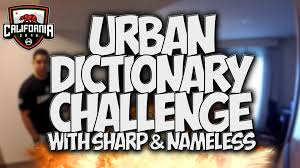 Challenge Dictionary Dictionary Challenge With Sharp Nameless At Umgcali35k
