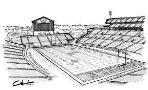 hotty toddy drawing by calvin durham