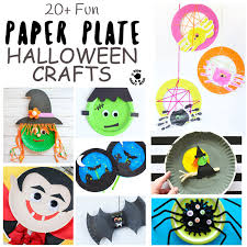 Fun Halloween Crafts - 20 fun paper plate halloween crafts kids craft room