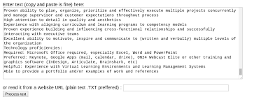 Resume Power Verbs List Resume resume analysis and how to choose keywords for a resume