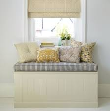 Storage Bench With Cubbies Martha Stewart Living White Storage Bench With Seat And Cubby