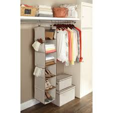 Hanging Pictures Better Homes And Gardens 6 Shelf Hanging Closet Organizer