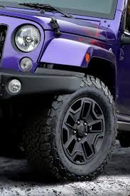purple jeep no doors 2016 jeep wrangler backcountry goes plum crazy for la show