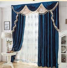 different curtain styles blackout curtain with rings or hooks free triming for different