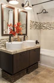 bathrooms design the perfect glass tile backsplash in bathroom