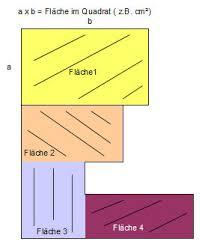 rechteck fläche berechnen geometrie grundschule
