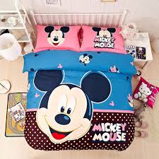 Mickey Duvet Cover Casa Children 100 Cotton Mickey Series Mickey Duvet Cover