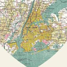 map of nyc luciusart new york city map wood block print